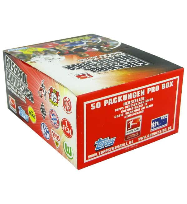 Topps Bundesliga Stickers 2011 / 2012 Box