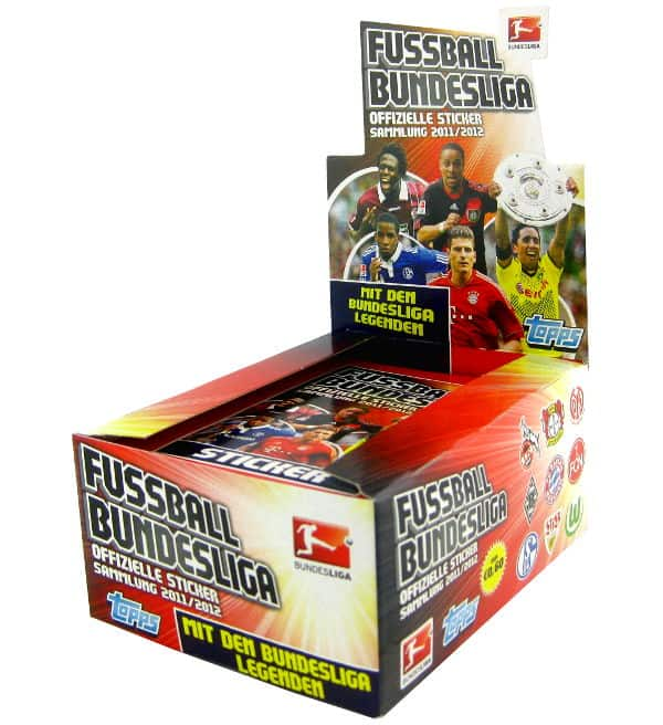 Topps Bundesliga Stickers 2011 / 2012 Display