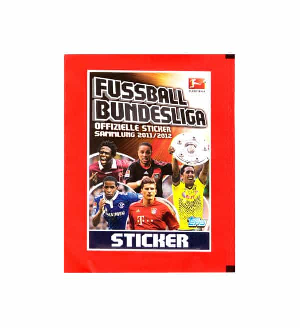 Topps Bundesliga Stickers 2011 / 2012 Packet