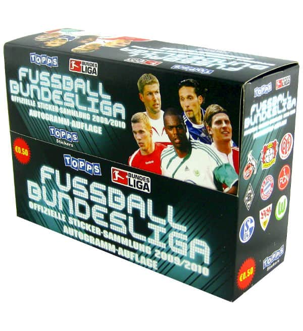 Topps Bundesliga Stickers 2009 / 2010 - 100 Packets