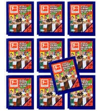 Topps Bundesliga Stickers 2017 2018 10 Packets