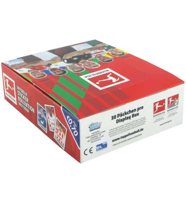 Topps Bundesliga Stickers 2017 2018 30 Packets