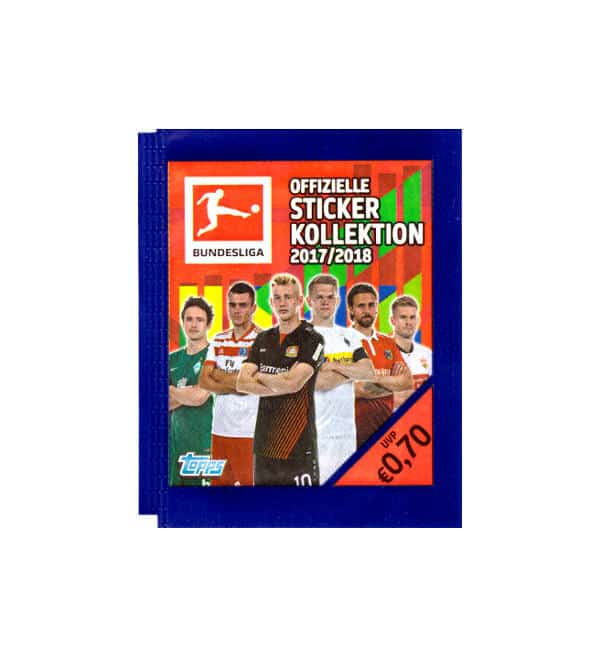 Topps Bundesliga Stickers 2017 2018 Packet