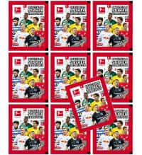 Topps Bundesliga Stickers 2018 2019 10 Packets