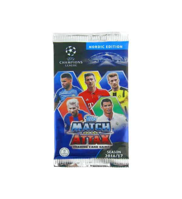 Topps CL Match Attax 2016 / 2017 Nordic Edition Packet