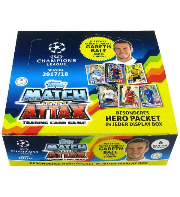 Topps Champions League Match Attax 2017 / 2018 - 24 Packets