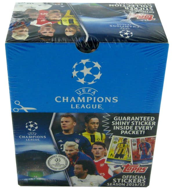 Topps Champions League Stickers 2016 / 2017 - 50 Packets