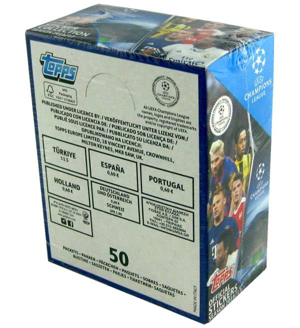 Topps Champions League Stickers 2016 / 2017 Box