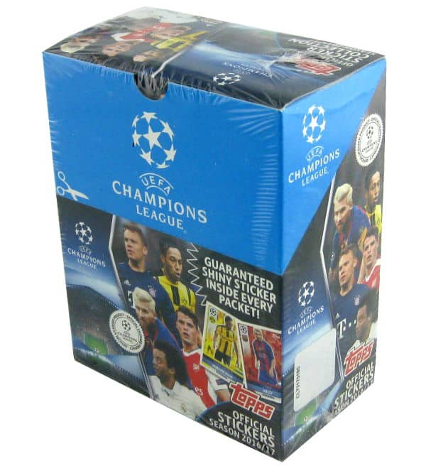Topps Champions League Stickers 2016 / 2017 Display