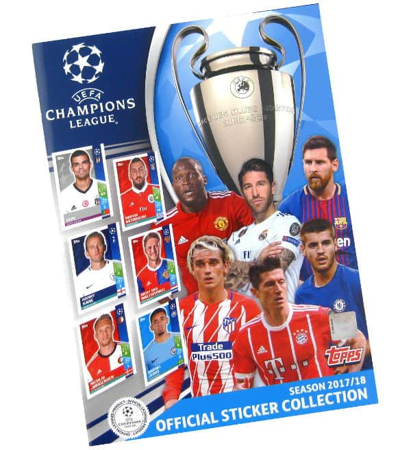Topps Champions League Stickers 2017 / 2018 Album