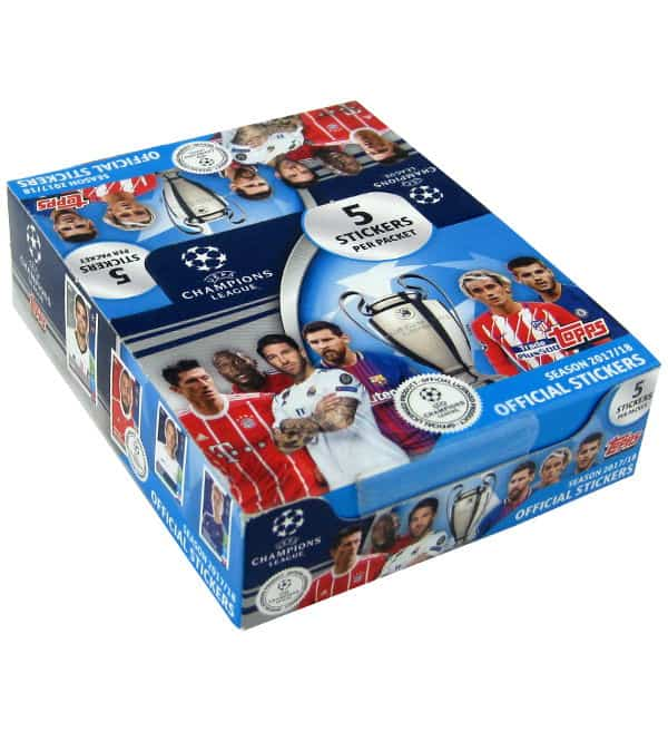 Topps Champions League Stickers 2017 / 2018 Display