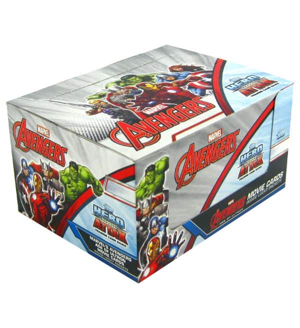 Topps Hero Attax Avengers - Age of Ultron box