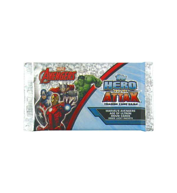 Topps Hero Attax Avengers - Age of Ultron packet