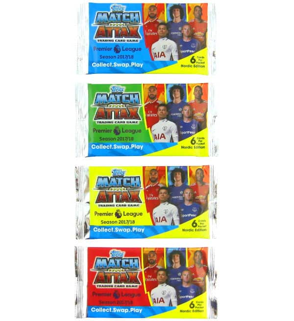 Topps PL Match Attax 2017 / 2018 Nordic Edition - Packets