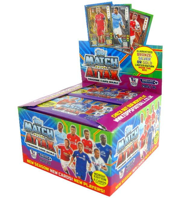 Topps PL Match Attax 2015 / 2016 Nordic Edition Display
