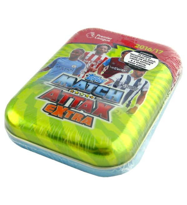 Topps PL Match Attax Extra 2016 / 2017 Pocket Tin Green