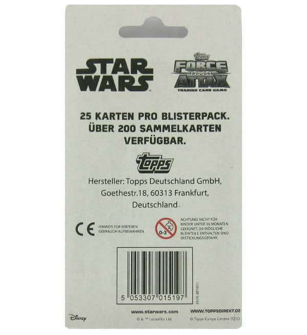 Topps Star Wars Force Attax Ep. 7 - Blister Pack