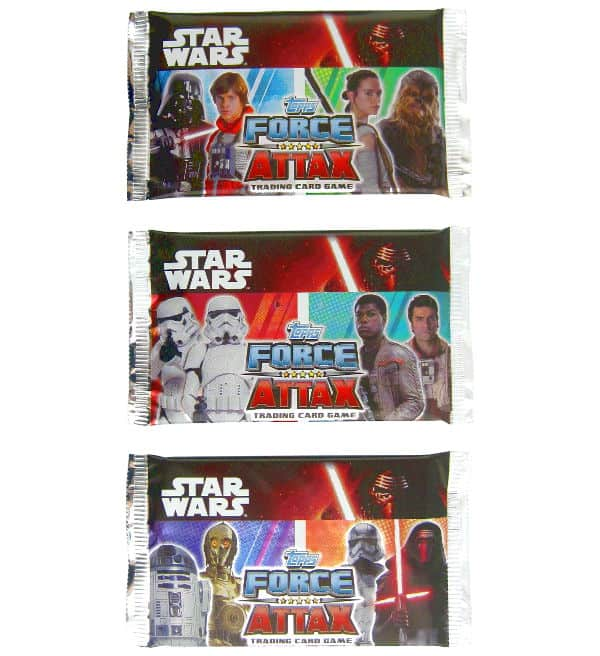 Topps Star Wars Force Attax Ep. 7 - Booster