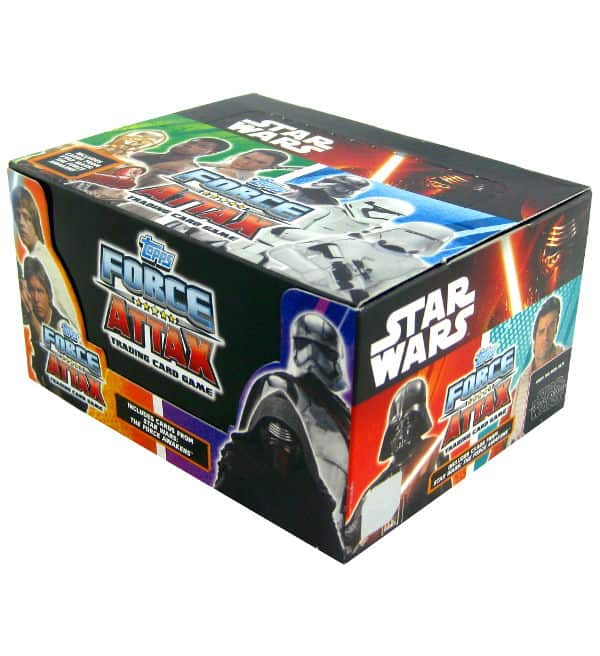 Topps Star Wars Force Attax Ep. 7 - Box 24 Packets
