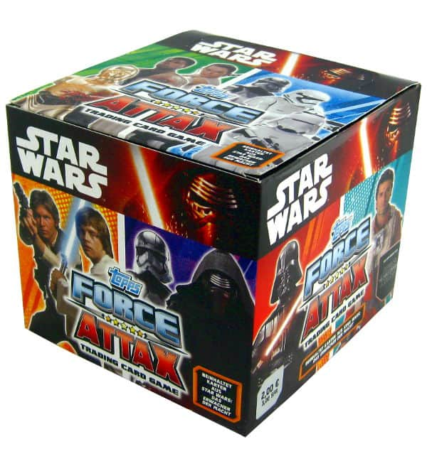 Topps Star Wars Force Attax Ep. 7 - Box 50 Packets