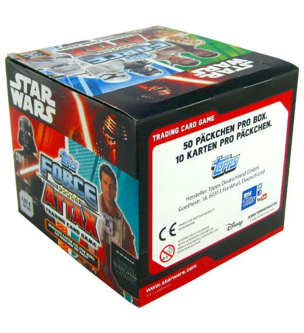 Topps Star Wars Force Attax Ep. 7 - Box 500 Cards