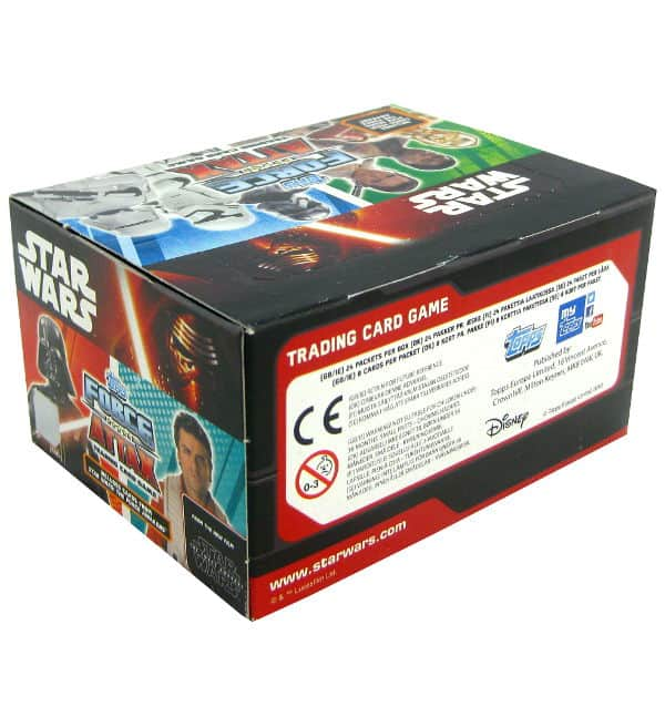 Topps Star Wars Force Attax Ep. 7 - Display 192 Cards