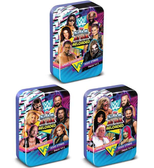 Tarjeta 76-Naomi-SmackDown-Slam Attax Reloaded 2020